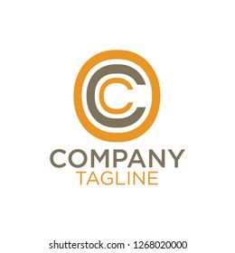Letter C and Letter O logo