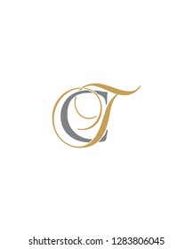 Letter C And T Logo Icon 001