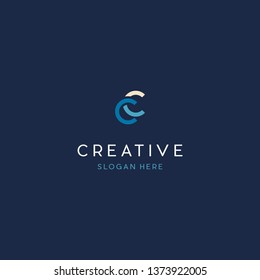 Letter CC Creative Business Logo Design