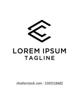 Letter CC Logo Design Template