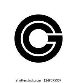 Letter CG / GC logo