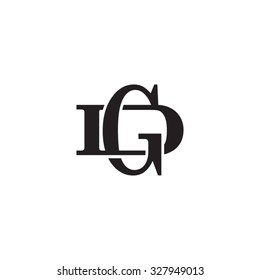 letter D and G monogram logo