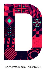 Letter D from my letter collection
