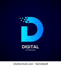Letter D Logo Vector Images Stock Photos Vectors