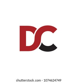 Letter DC Initials Logo