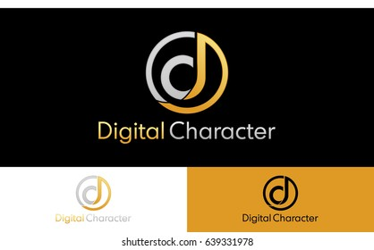 Letter DC Logo