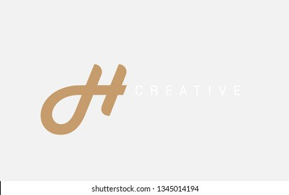 Letter DH logotype For Business