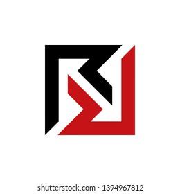 letter double R logo icon