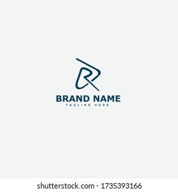 Letter DR logo icon design template elements