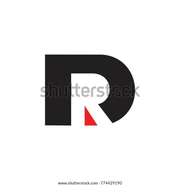 Letter Dr Negative Space Design Logo Stock Vector Royalty Free 774429190,Interior Design Templates