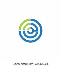 letter e maze connection  logo