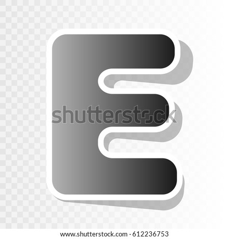 letter e sign design template element stock vector royalty free