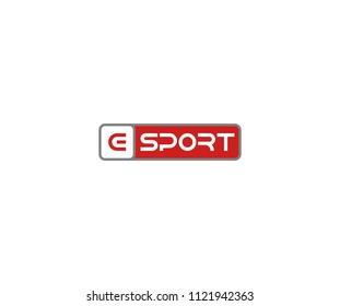 Letter E for Sport Logo Design Template