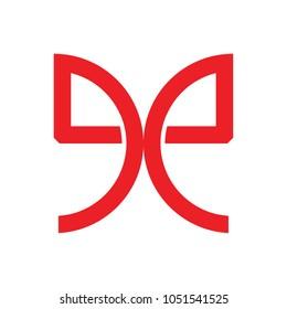 Letter EE Logo