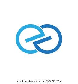 Letter ee logo template