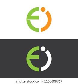 Letter Ei Logo