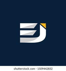 Letter EJ Creative Business Modern Logo