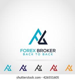 Letter F B Logo