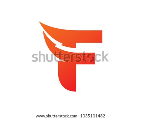 letter f logo template design vector emblem design concept creative symbol icon