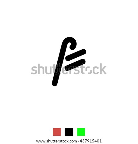 the letter f for logos icons web design the template element black
