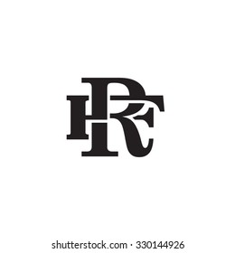 letter F and R monogram logo