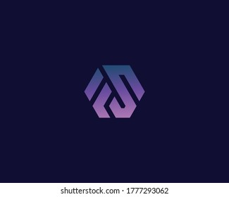 Letter F S logo design. creative minimal monochrome monogram symbol. Universal elegant vector emblem. Premium business logotype. Graphic alphabet symbol for corporate identity