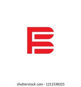 Letter FB Logo. FB Letter Design Vector