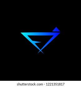 letter fj logo design
