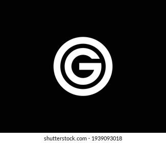 letter G and go, og logo design vector template