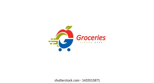 Letter G Grocery store or grocery delivery company's logo