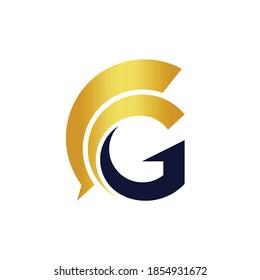letter g guardian vector logo