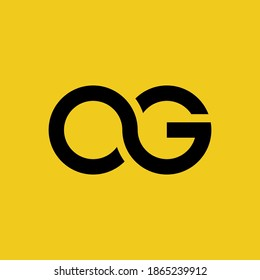 letter a and g joint letter logo. ag log vector. abstract modern creative business a g letter logo vector.