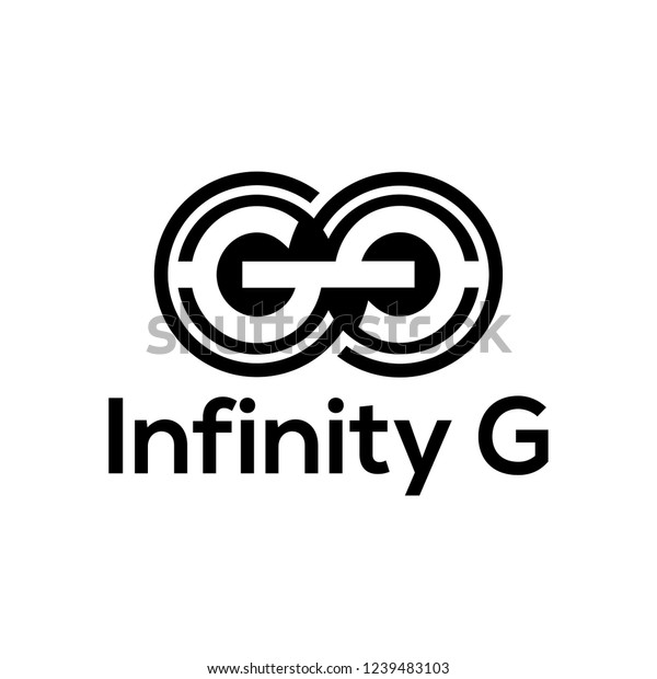 Letter G Logo Design Inspiration Stock Vector Royalty Free