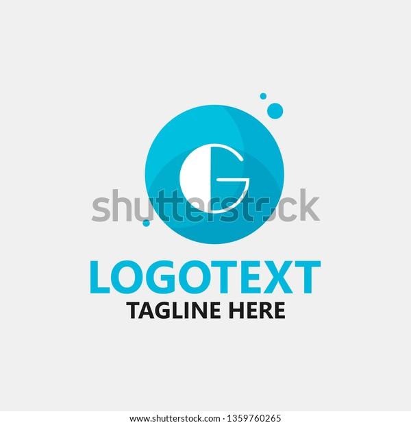Letter G Logo Designs Inspiration On Stock Vector Royalty