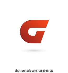 Letter G A logo icon design template elements