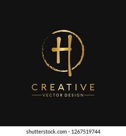 Letter G Logo. Initial Letter Design Vector Luxury Colors