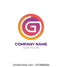 Letter G Logo, Logo Template for your business company