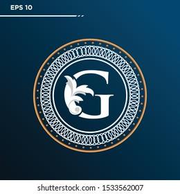 Letter G logo Vintage . Letter G minimalis. Letter G logo Designs. Letter G Retro