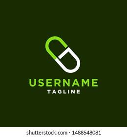 Herbal Pill Logo Images, Stock Photos & Vectors | Shutterstock