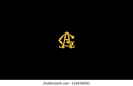 LETTER A AND G SIGNATURE LOGO FOR ILLUSTRATION USE