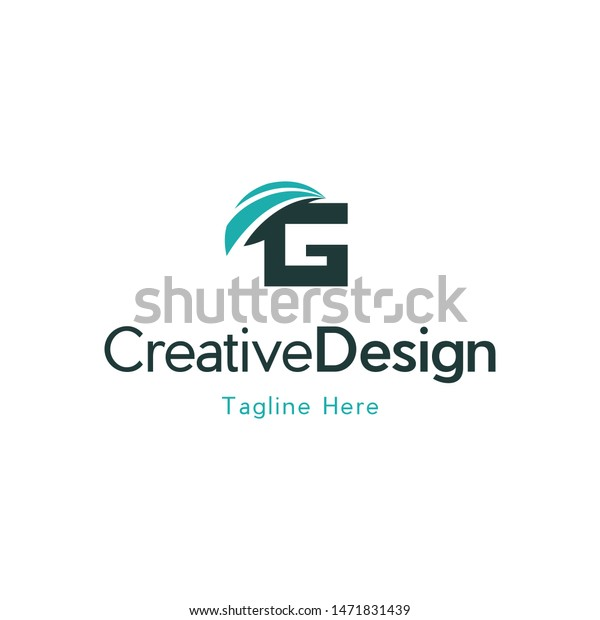 Letter G Wings Freedom Creative Logo Stock Vector Royalty