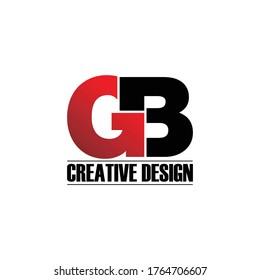Letter GB logo icon design vector. monogram logo vector illustration
