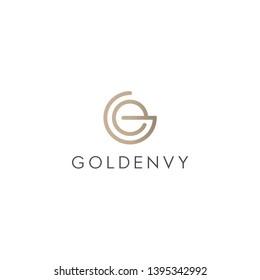 letter GE EG logo design modern logo and premium logo