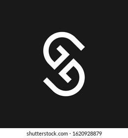 Letter GG GGS SG Logo Design Template