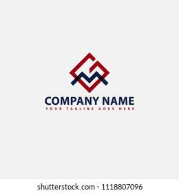 Letter Gm Logo