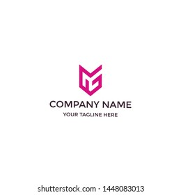 Letter GS Monogram Logo for business or any project