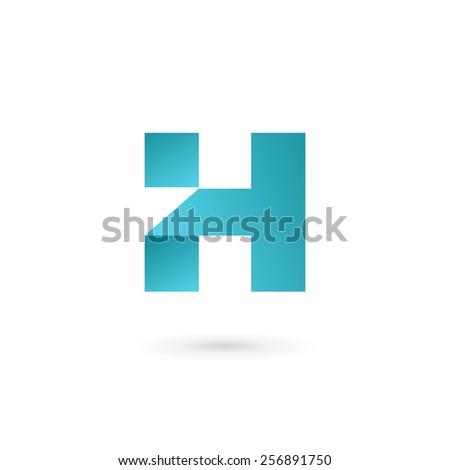 4e249e2952a7 Letter H Logo Icon Design Template Stock Vector (Royalty Free ...