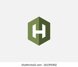 Letter H logo icon vector design