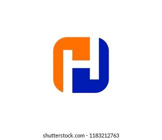 Letter H Logo Template Design Vector