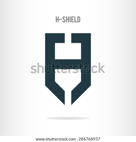 letter h logo template letter h stock vector royalty free